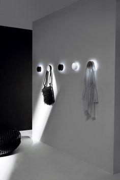 The Alone Coat Hook Wall Light by Pallucco » CONTEMPORIST