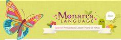 Preschool+Spanish+–+Monarca+Language+Printables