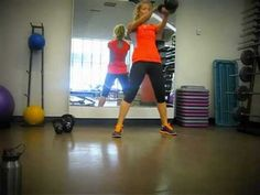 KB Countdown Workout  50 KB Swings, 40 KB snatches(20/arm), 30 KB SDHP, 20 KB Goblet Lunges, 10 KB TGU (5/arm) repeat 1-3 times