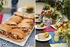 bbq wedding.  if those are pulled pork sandwiches and add some bbq brussel sprouts...YESSSS!