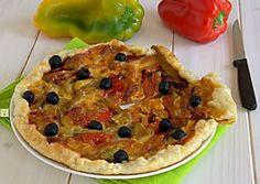 Sfogliata ai peperoni, torta salata facilissima e gustosa