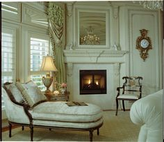 Luxury Vintage Living Room Ideas With Elegant Curtain Decoration ...