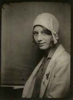 A youg woman, 1920s.