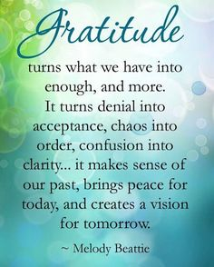 80 Most Inspiring Attitude of Gratitude Quotes, Sayings & Images