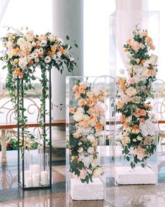 Hanging Flower Curtain Wedding Ceremony Aisle Decor