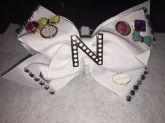 Diy junk bow (All bows and headbands are custom made and inspired by my daughters)