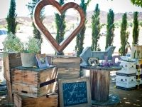 Fun activity for wedding reception guests or party guest to do at Peltzer Farms in Temecula Valley Wine Country.