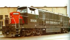 Southern-Pacific Krauss-Maffei diesel-hydraulic locomotive   by torinodave72