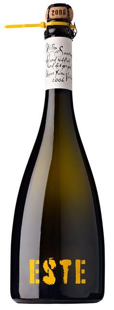 Este #champagne #bottle #packaging