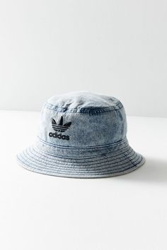 Shop adidas Originals Denim Bucket Hat at Urban Outfitters today. a0cca0a15212