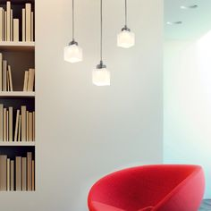 RENOIR - Overhanging spotlight, ideal for the lighting of entrances, corridors, small tables and counters. #LED #light_e_design #design #illumination #lamp #lightdesign #indoor #lighting #lamp #pendant #iluminacion #decor #home #decoracion #lampara
