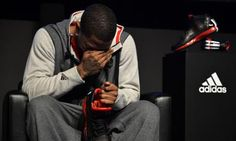 Derrick Rose During the launch of D Rose 3 shoes