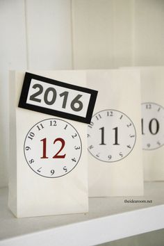 New Years Eve Countdown Bags 2
