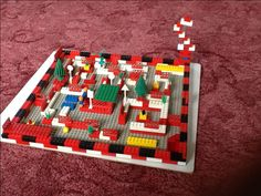 Lego marble maze created by Matthew Day, but inspired by me!