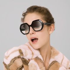 4373122097 You can t go wrong with black oversized sunnies. These new  Longchamp  sunglasses