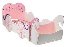 Princess Carriage Bed, Princess Room, Kids Bedroom Furniture, Funky Furniture, Unique Furniture, Painted Furniture, Cinderella Bed, Batman Bed, Boat Bed