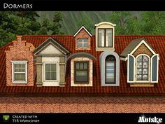Dormers by Mutske  http://www.thesimsresource.com/downloads/1190836