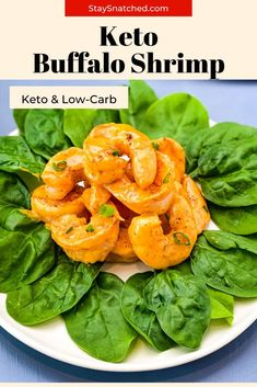 This Easy Keto Buffalo Shrimp Recipe can be served baked, seared, or fried. You won't miss the appetizer from Hooters, once you have a dose of this! Buffalo Shrimp Recipes, Buffalo Recipe, Breaded Shrimp, Meal Prep Guide, Keto Recipes, Healthy Recipes, Primal Kitchen, Summer Meal Planning, Air Fryer Recipes