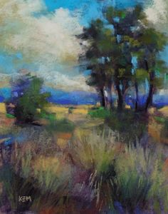 Advice for Flying with Pastels, painting by artist Karen Margulis