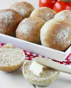 grahamsfrallor7 Savoury Baking, Our Daily Bread, Fika, Hamburger, Recipies, Rolls, Buns, Breads, Corner