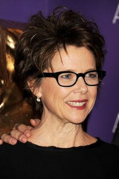 short haircuts for women over 50 with glasses - Google Search