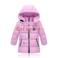 Autumn&Winter Jacket For Girls Coat Teenagers Girls Jacket Boys Jacket Eafreloy Kids Warm Outerwear Coat Children Clothes G97 #Affiliate