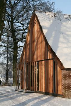 Renovation of an old farmhouse - Aequo Architecten [now Kwint Architecten], designed by me