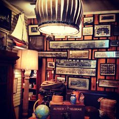 The Ralph {Lauren} Room | one of our favorite spaces at the shoppe. Collegiate, preppy, the ultimate man cave!