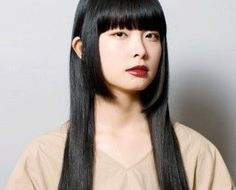 Hairstyles For Round Faces, Hairstyles With Bangs, Haircuts, Korean Haircut Long, Asian Bob, Light Bangs, Asian Bangs, Bangs For Round Face, How To Cut Bangs