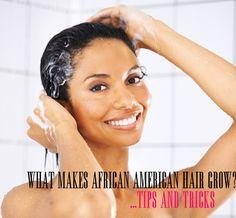 What makes African American hair grow? @CeeCee Santiago