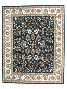 RugStudio presents ORG Destin Olda Black Hand-Tufted, Better Quality Area Rug - 5x8