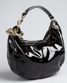 a5018768d76 jimmy choo Black Patent Leather, Sheik, Jimmy Choo, Designer Handbags,  Bangle,