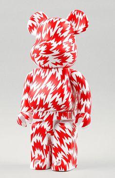 Eley Kishimoto Bearbrick in Red