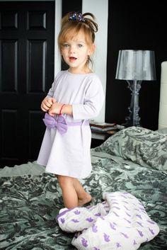 Monica + Andy || Little Bow Peep Dress || http://www.monicaandandy.com/girls/little-bow-peep-dress-wisteria.html