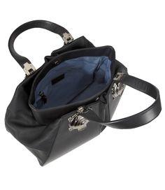 Tamsin Maxi Hobo Bag Black