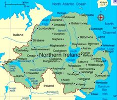 mapa da irlanda - Pesquisa Google