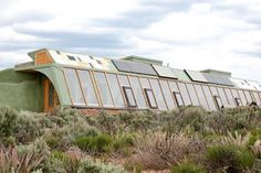 Michael Reynolds is mastering the most sustainable homes on planet Earth.