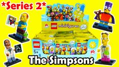 Simpsons Lego Minifigures Series 2 The Simpsons Blind Bags Lego 71009
