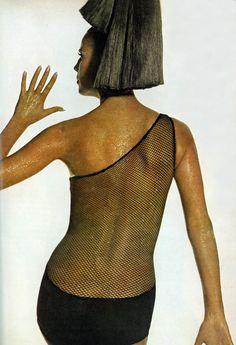 Vogue December 1965 Model Birgitta af Klercker