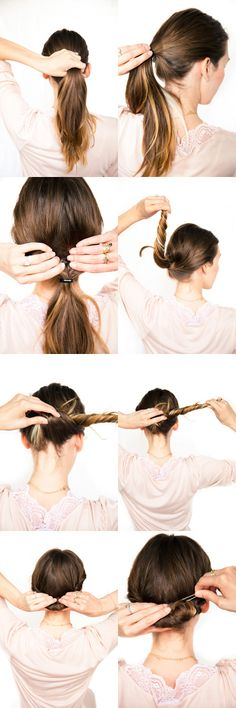 Wedding twist tutorial...