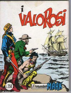 Il comandante mark cepim n. 18 - i valorosi - 1973 - lire 250