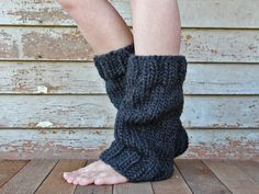 UNDERSTANDING Women's Leg Warmers Pattern a set by bromefields