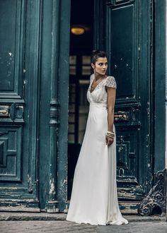 Laure de Sagazan dévoile sa nouvelle collection de robes de mariée 2016 robe de mariée en dentelle Paris http://www.vogue.fr/mariage/adresses/diaporama/laure-de-sagazan-dvoile-sa-nouvelle-collection-de-robes-de-marie-2016/21435#laure-de-sagazan-dvoile-sa-nouvelle-collection-de-robes-de-marie-2016-2