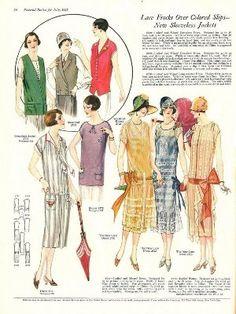 beauty blog - Мастерская моды - второй урок, первая часть. История моды XX века. 1920-1930 гг.