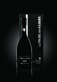 La Vigne aux Gamins 2004, photo MKB, Packaging by©markcom,