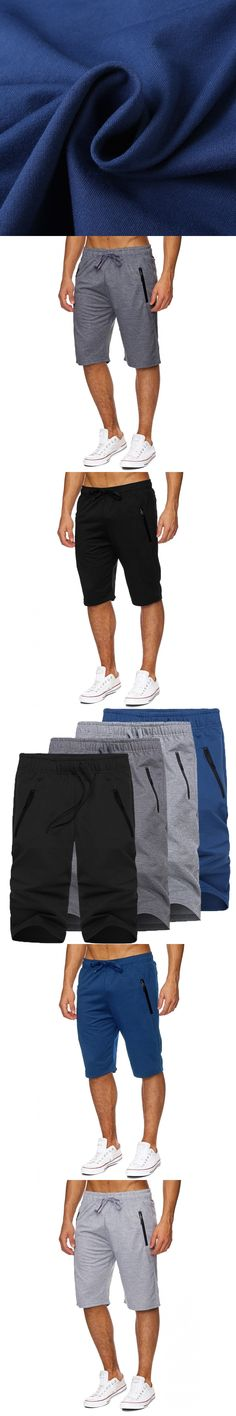 2017 Summer Casual Shorts Men Sportswear Baggy Sweatpants Men's Joggers Bermuda shorts Fashion Male Knee Length Trousers 2XL