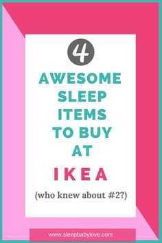 Who Knew Ikea Would Be Such A Great Place For Awesome Sleep Items! If You Are Looking To Shop At IKEA, Check Out This Post To Find The Best Sleep Items.