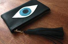 Evil eye wallet