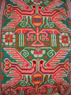 Mexican embroidery..