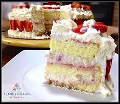 Creme Brulee, Ricotta, Vanilla Cake, Latte, Cake Recipes, Sweet Tooth, Cheesecake, Desserts, Food